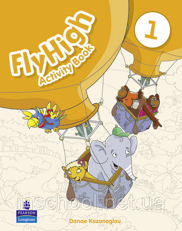 Fly High Level 1 Activity Book ISBN: 9781408233818, фото 2