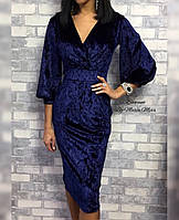 Платье бархатное, фото 1