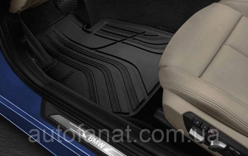 Комплект оригинальных ковриков салона BMW 3 GT (F34) (51472219799 / 51472311212)
