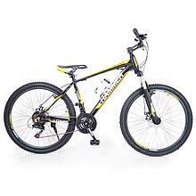 Подростковый Велосипед HAMMER-24 Black-Yellow