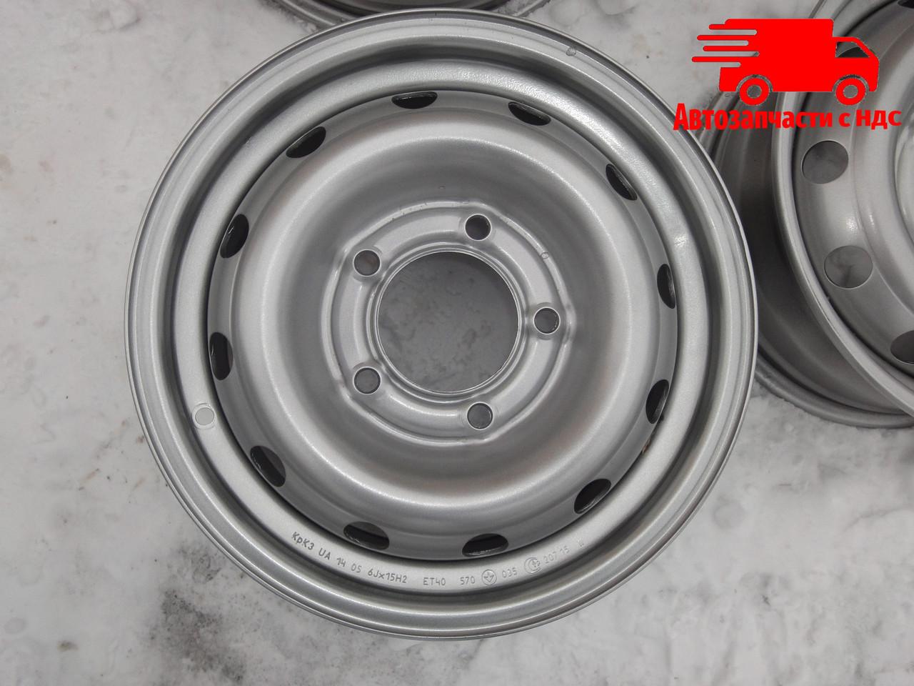 Диск колесный НИВА-CHEVROLET R15 металлик. Ціна з ПДВ.