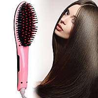 Лучший Подарок Инновационная Расческа-выпрямитель Fast Hair Mini