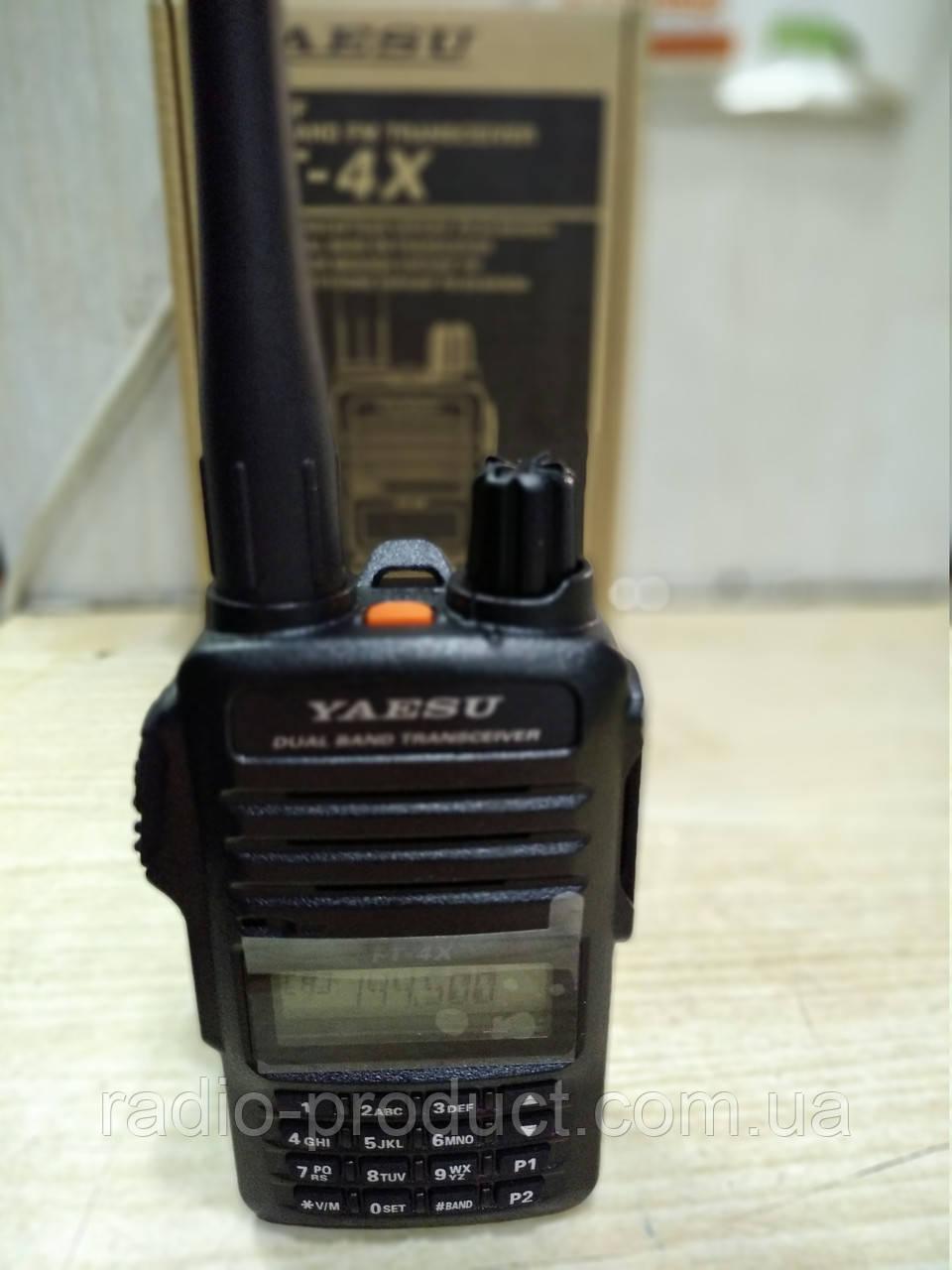 Yaesu FT-4X, двухдиапазонная портативная радиостанция