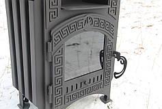 """Печь-камин на дровах """"Везувий"""" с принудительной конвекцией, сталь 4-8мм, фото 3"""