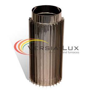 Труба-радиатор дымоходная 1м нерж. 180мм 1.0мм