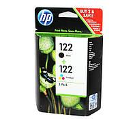 Комплект картриджей HP №122 (CH561HE) + №122 (CH562HE), DeskJet 2050 (CR340HE)