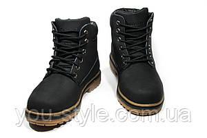 Зимние ботинки (на меху) женские Timberland 11-073 (реплика)