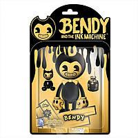 Фигурка -БендиBendy and the Ink Machine : Yellow Bendy Action Figure -Бенди и Чернильная машина