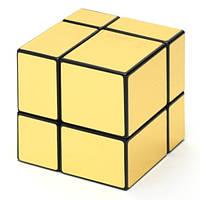 КубикЗеркальный 2х2 ShengShou Mirror, золото, фото 1