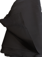 Ткань диагональ черная