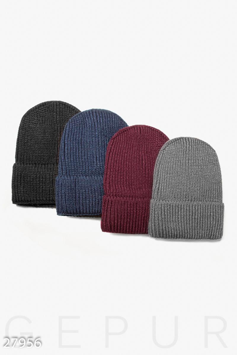 Простая зимняя шапка