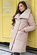 Зимнее пальто с митенками, фото 2