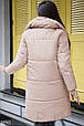 Зимнее пальто с митенками, фото 3