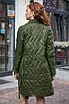Демисезонное стеганое пальто, фото 3