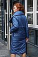 Утепленное зимнее пальто, фото 3