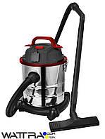 ⭐ Пылесос хозяйственный FORTE VC2016S (1600 Вт / 20 л) для влажной и сухой уборки (строительный)