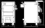 Твердотопливный бытовой одноконтурный котел MARTEN BASE MB-12v, фото 2