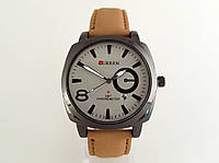 Мужские часы CURREN - BUSSINES STYLE, цвет корпуса черный, белый циферблат