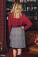 Твидовая юбка-трапеция, фото 3