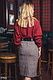 Твидовая юбка-карандаш, фото 3