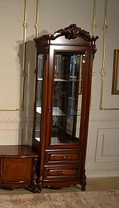Витрина 1-но дверная Маркиза орех