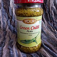 Зелений чилі пикл / ачар, Green Chilli Pickle, 283г