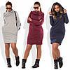 Платье хомут из ангоры sh-018 (42-52р, разные цвета), фото 4