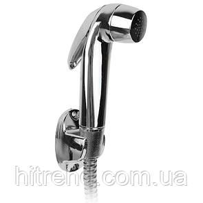 Гигиенический гарнитур для биде с шлангом 120см хром Set Turbo Flessibile 34834-16 - R132844