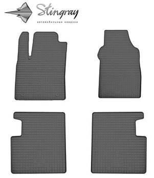 Автомобильные коврики Fiat 500 2007-  Комплект (Stingray)