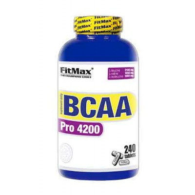 BCAA FitMax - BCAA Pro 4200 (240 таблеток)