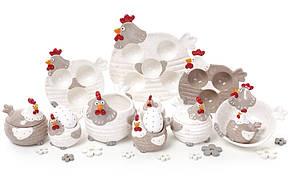 Набор для специй керамический Курочки, 2 вида, 7см, в упаковке 4 набора (834-742), фото 2