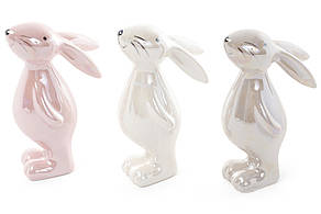 Декоративна керамічна фігурка Кролик, 3 види, 10см (834-758)