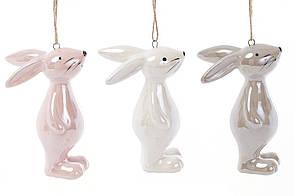 Підвісний керамічний декор Кролик 3 види, 8см (834-759)