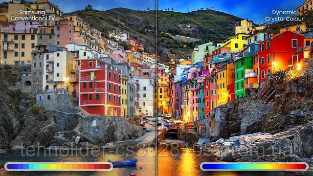 технология Dynamic Crystal Colour фото