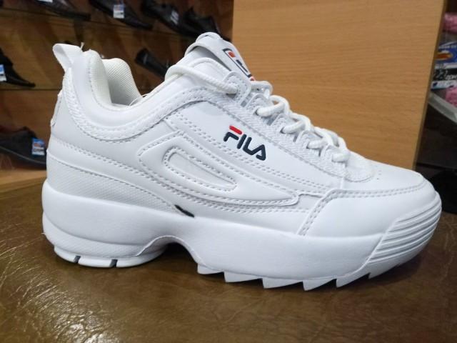 Кроссовки подростковые Fila 6217-3 белый