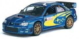Металлическая машинка Kinsmart Subaru Impreza WRS 2007