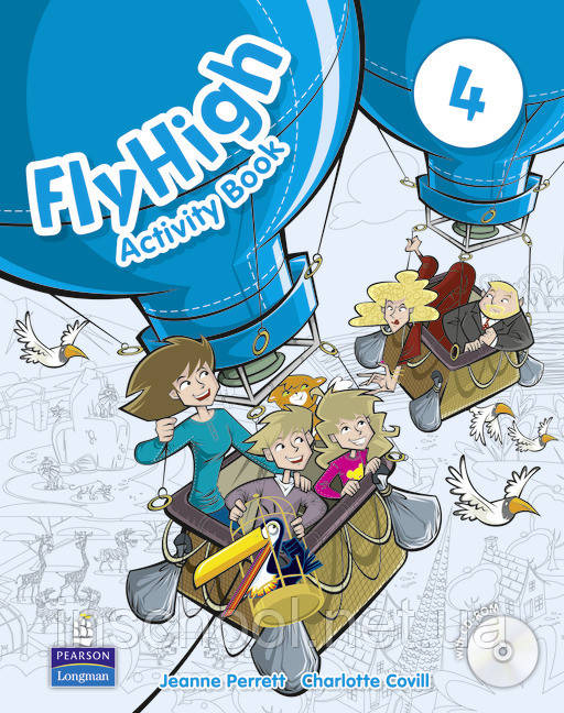 Fly High Level 4 Activity Book (with CD-ROM) ISBN: 9781408249772