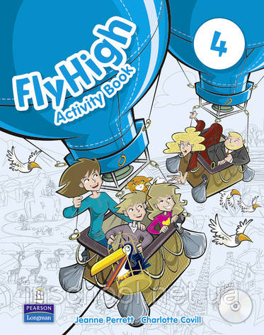 Fly High Level 4 Activity Book (with CD-ROM) ISBN: 9781408249772, фото 2