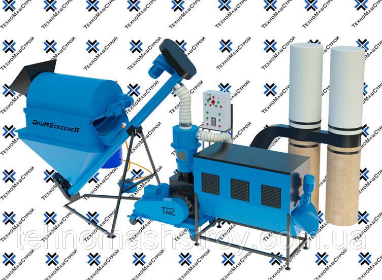 Оборудование для производства пеллет и комбикорма МЛГ-500 COMBI+