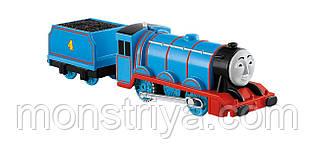 Паровозик Gordon, с одним вагоном.