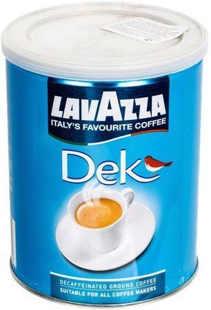"Кофе "" Lavazza Dek Decaffeinato"" 250 г ЖБ (без кофеина, молотый)"