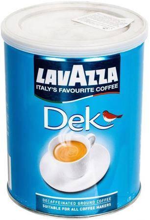 "Кофе "" Lavazza Dek Decaffeinato"" 250 г ЖБ (без кофеина, молотый), фото 2"