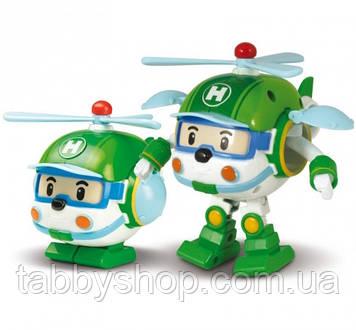 """Трансформер вертолет Robocar POLI Silverllit """"Хэли"""", 10 см"""