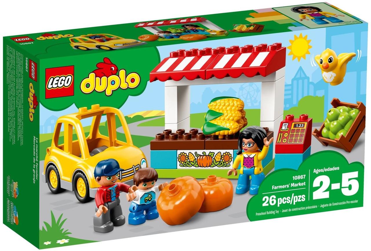 Lego Duplo Фермерский рынок 10867