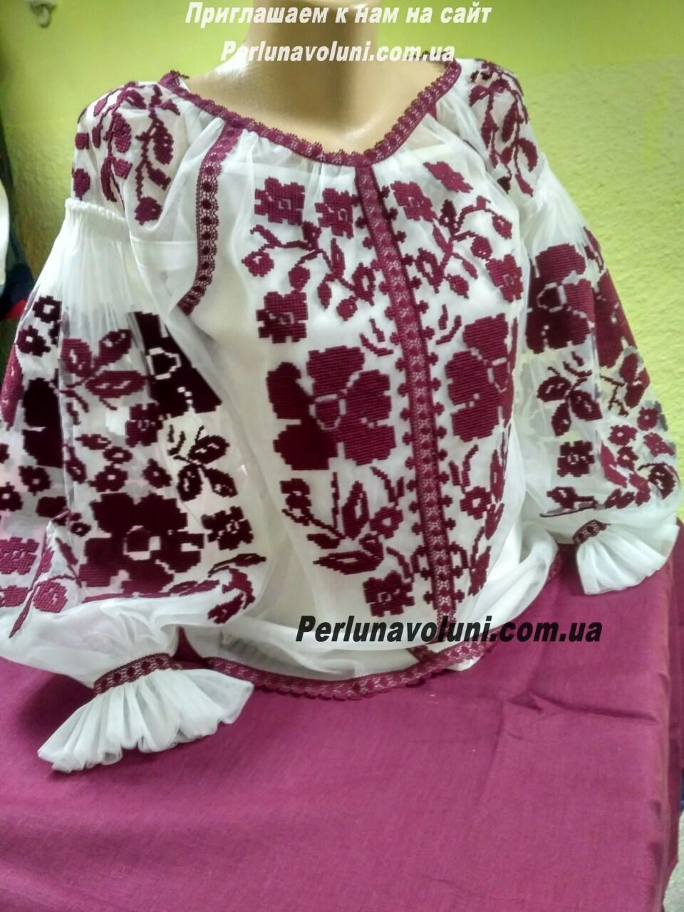 "Женская вышитая блуза ""Амели"""
