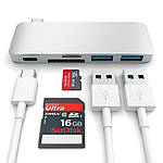 Satechi Type-C USB 3.0 Passthrough Hub Silver, фото 3