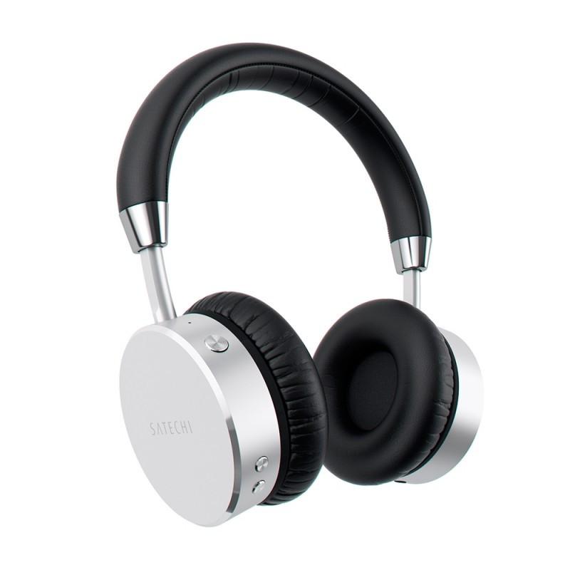 Satechi Aluminum Wireless Headphones Silver