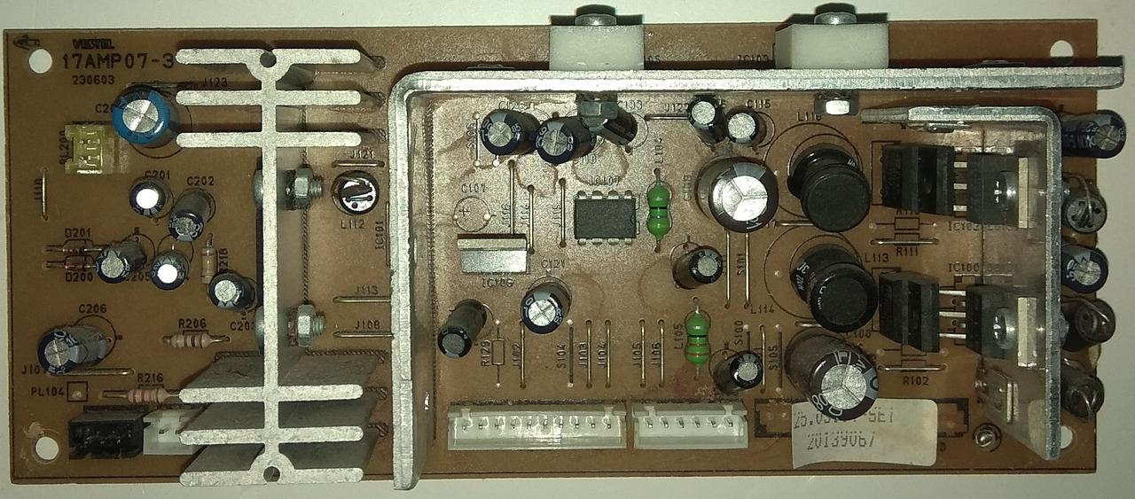 Блок питание 17AMP07-3 к телевизору DIGITAL DAVOS-S