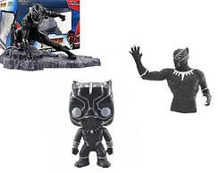 Коллекционные фигурки Фанко Поп Funko Pop Черная пантера Black Panther