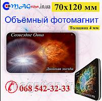 Магнит объёмный виниловый 03